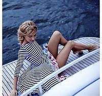 Платье морячка -цветы 423 АС!, фото 1