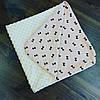 Плед в коляску или кроватку 90×90 (летний)