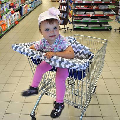 Вкладиш у візочок супермаркета