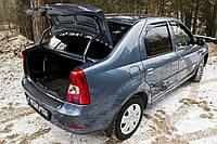 Накладка на порожек багажника Renault Logan 2010-2013 г.в. Рено Логан