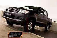 Расширители колесных арок (накладки на арки) Toyota Hilux 2013-2015 г.в. Тойота Хайлюкс