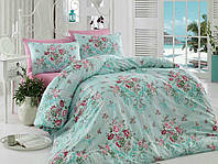 Летнее постельное белье Cotton Life Pike евро, фото 1