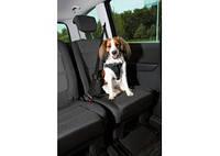 TRIXIE Dog Protect Защитная шлея в авто для собак, чёрный, 65-80см, 25мм