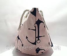 Пляжна літня сумка Якір, фото 2