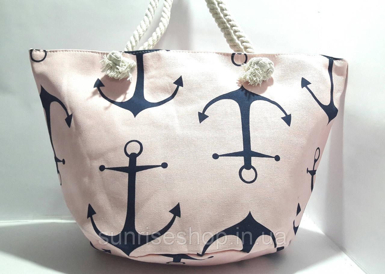 Пляжна літня сумка Якір