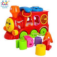 """Игрушка-сортер Huile Toys """"Паровозик с телефоном"""" (8810), Huile Toys"""