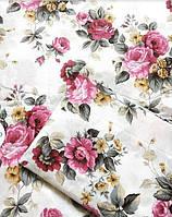 Очень красивое постельное белье из бязи Gold, цветы