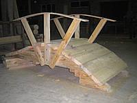 Мостик деревянный со сруба