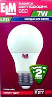 Лампа LED ТМ ELM led B60 7W PA10L E27 4000