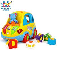 """Игрушка-сортер Huile Toys """"Умный автобус"""" (896), Huile Toys"""