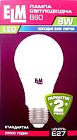 LED лампа ТМ ELM led B60 8W PA10 E27 4000