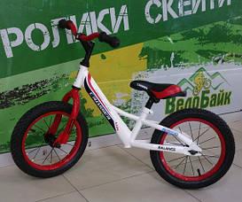 """Біговел 14"""" BALANCE AIR CR000002 червоний CROSSER"""