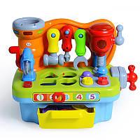 Игрушка Huile Toys Столик с инструментами 907, Huile Toys