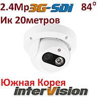 Высокочувствительная видеокамера 3G-SDI-2536WIDE марки interVision 1080P