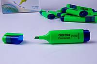 Текстовыделитель №CT-700, зеленый цвет, маркеры перманентные