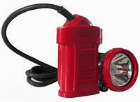 Шахтерский фонарь (фонарик) 0018 налобный коногонка мощный светодиодный, аккумуляторный