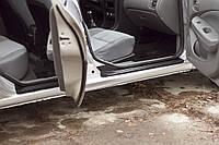 Накладки на внутренние пороги дверей Nissan Almera Classic 2007-2012 г.в. Нисан Альмера