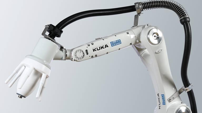 Покрасочный робот KUKA ready2_spray