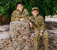 Детский военный костюм Киборг для мальчиков цвет камуфляж ВАРАН