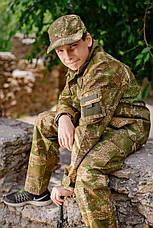 Детский военный костюм Киборг для мальчиков цвет камуфляж ВАРАНЧИК, фото 3
