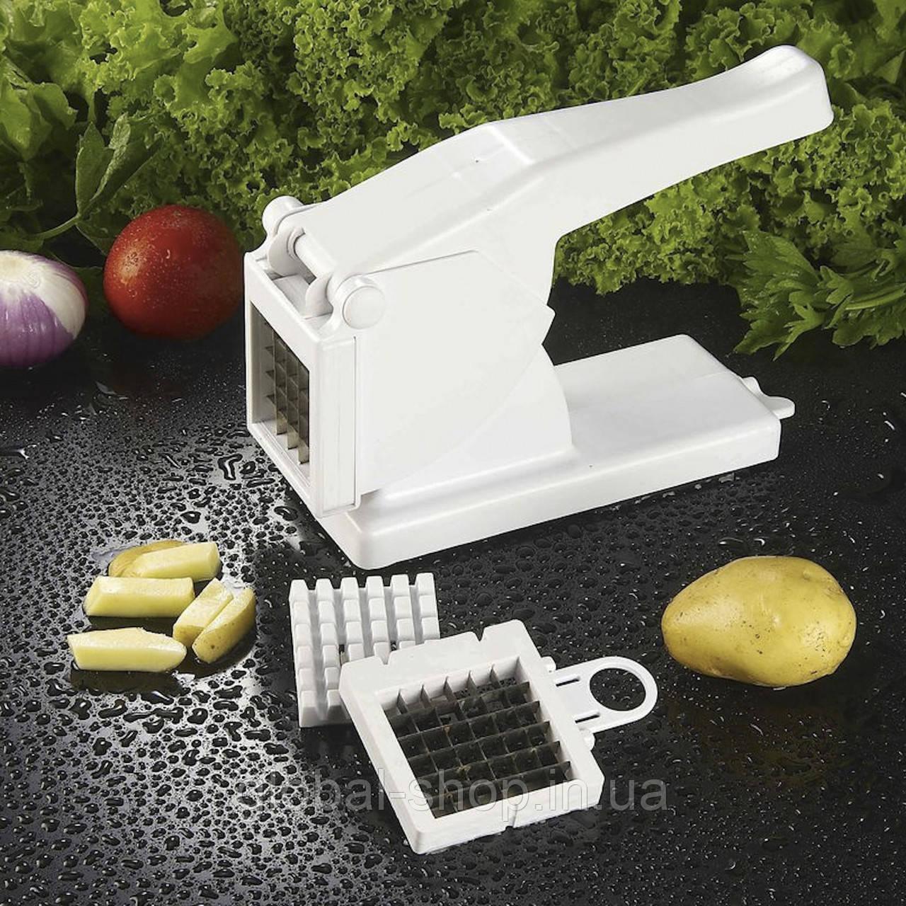 Машинка для нарезки картофеля фри, измельчитель овощей Картофелерезка Potato Chipper