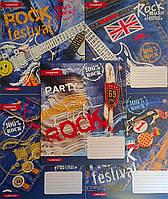 Тетрадь 60 листов клетка Jeans Rock-17 №795014 6102Ф+ Зошит України Украина