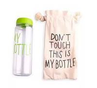 Бутылочка для воды My bottle зеленый