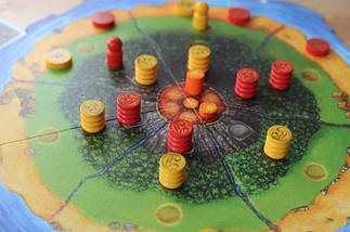 Настольная игра Дом солнца (Haleakala, Haus der sonne), фото 3
