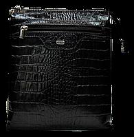 Модная мужская сумка через плечо DESISАN натуральная кожа CМ-50