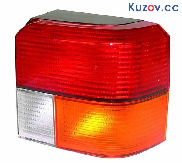 Фонарь задний VW T4 91-03 левый (Depo) красно-желтый 441-1919L-UE 701945095A01C