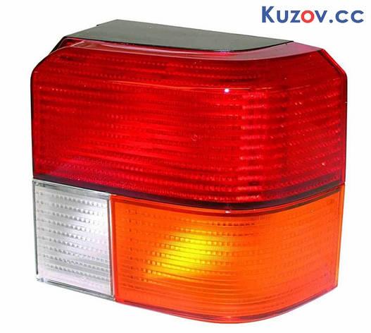 Фонарь задний VW T4 91-03 левый (Depo) красно-желтый 441-1919L-UE 701945095A01C, фото 2