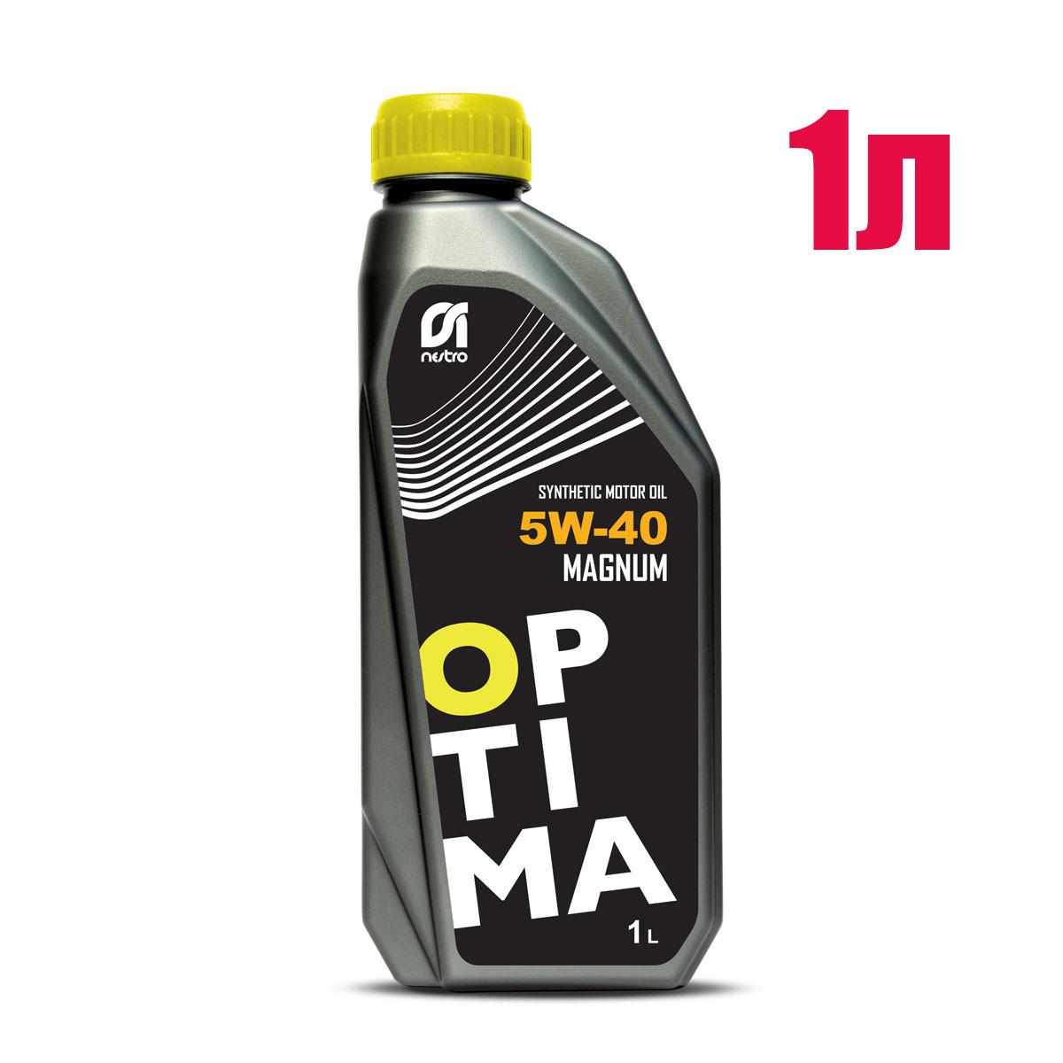 Моторное масло Nestro 5w40 Optima Magnum 1л