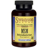 Swanson Ultra MSM 1000 мг 120 капс