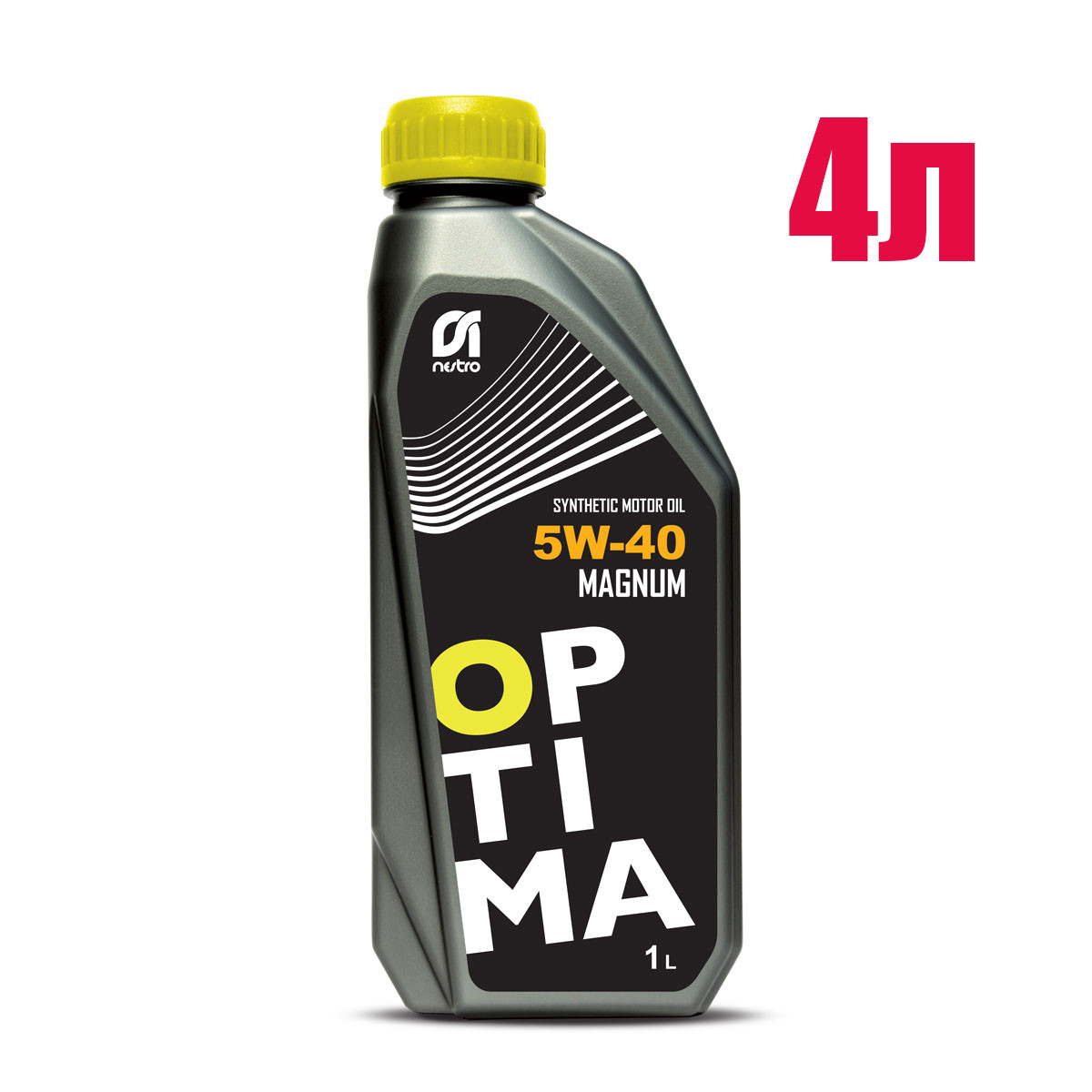 Моторное масло Nestro 5w40 Optima Magnum 4л