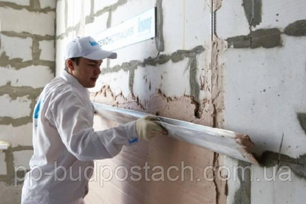 Штукатурка стен из газобетона - газоблока