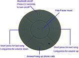 Водонепроницаемая Bluetooth MP3-колонка для душа - Waterproof Wireless Bluetooth Shower Speaker BTS-06, фото 4