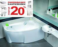 Ванна акриловая Ravak Asymmetric 160x105 L C461000000