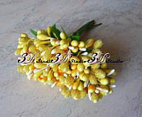 Добавка тычинка желтая комбинированная сахар+лак