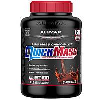 ALLMAX Nutrition, QuickMass, катализатор быстрого набора массы, шоколад, 2,72 кг (6 фунтов)