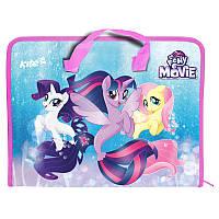Портфель пластиковый на молнии А4 KITE 2017 My Little Pony 202-2 (LP17-202-02)