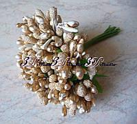 Добавка тычинка золотая комбинированная сахар+лак