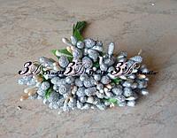 Добавка тычинка серебряная комбинированная сахар+лак