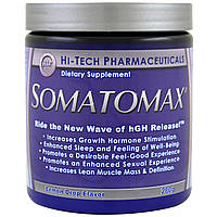 Hi Tech Pharmaceuticals, Сомотомакс, Высвобождение гормона роста, Вкус лимонных леденцов, 280 г