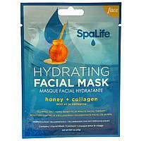 My Spa Life, СПА Лайф Увлажняющая маска для лица, Для лица, 1 маска для лица, 0.81 унции (23 г)