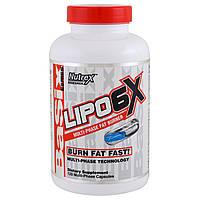 Nutrex Research Labs, Basix Series, комплекс Lipo-6X, 120 капсул