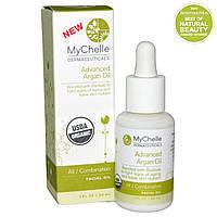MyChelle Dermaceuticals, Аргановое масло для лица, для комбинированной кожи, 1 жидкая унция (30 мл)