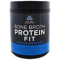 Ancient Nutrition, Белковый комплекс на основе костного бульона, фитнес-гейнер 504 г (17.8 oz)