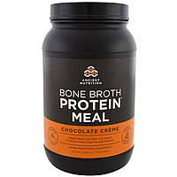 Ancient Nutrition, Белковая пища из костного бульона, шоколадные сливки, 28,6 унции (811 г)