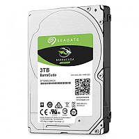 "Накопитель HDD 2.5"" SATA 3.0TB Seagate BarraCuda 5400rpm 128MB (ST3000LM024)"