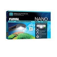 Hagen Fluval Nano Fresh and Saltwater LED Lamp универсальный светильник для морских и пресноводных нано аквариумов 6,5Вт